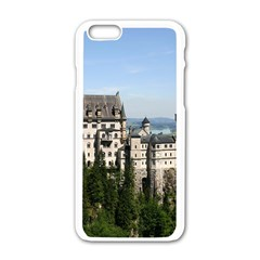 Neuschwanstein Castle 2 Apple Iphone 6/6s White Enamel Case