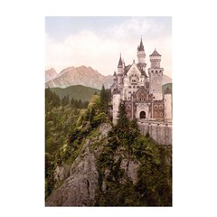 NEUSCHWANSTEIN CASTLE Shower Curtain 48  x 72  (Small)