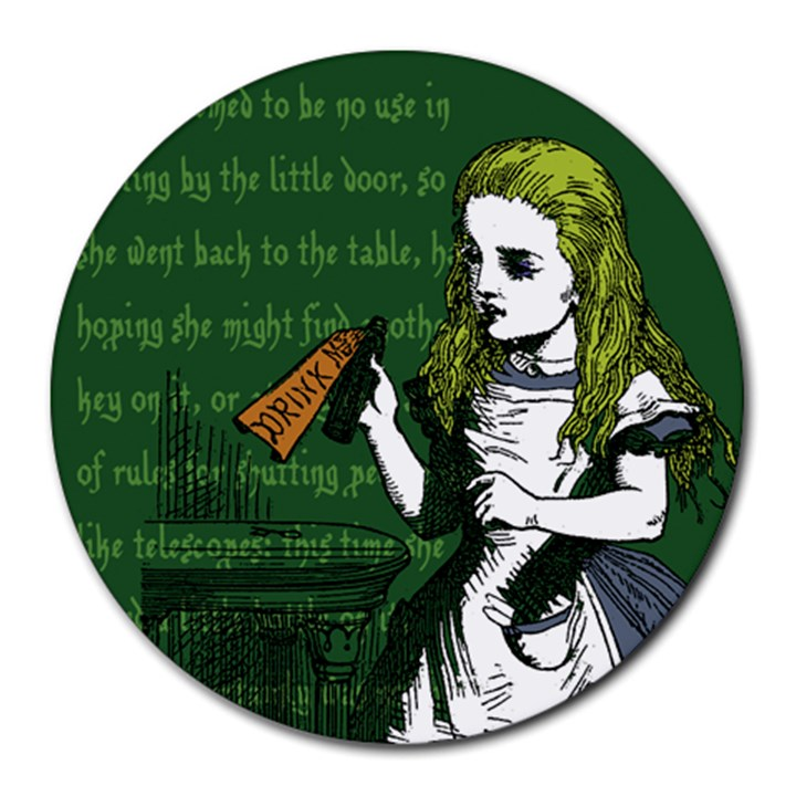 Alice In Wonderland Round Mousepads