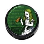 Alice In Wonderland 4-Port USB Hub (Two Sides)  Front