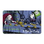 A Mad Tea Party Magnet (Rectangular) Front