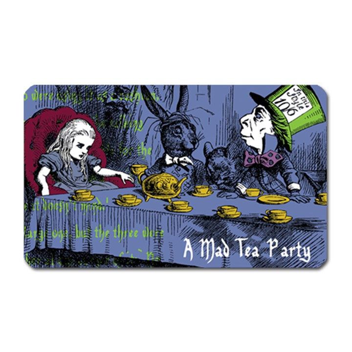 A Mad Tea Party Magnet (Rectangular)