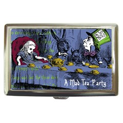 A Mad Tea Party Cigarette Money Cases