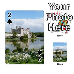 LEEDS CASTLE Playing Cards 54 Designs