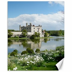 Leeds Castle Canvas 16  X 20