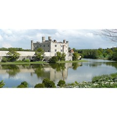 LEEDS CASTLE YOU ARE INVITED 3D Greeting Card (8x4)