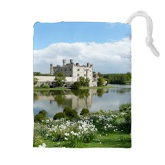LEEDS CASTLE Drawstring Pouches (Extra Large)