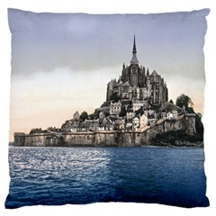 Le Mont St Michel 2 Standard Flano Cushion Cases (two Sides)