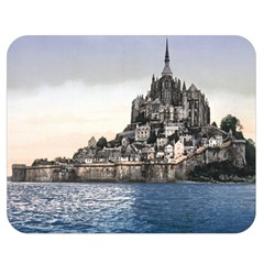 Le Mont St Michel 2 Double Sided Flano Blanket (medium)