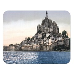 Le Mont St Michel 2 Double Sided Flano Blanket (large)