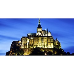 LE MONT ST MICHEL 1 YOU ARE INVITED 3D Greeting Card (8x4)
