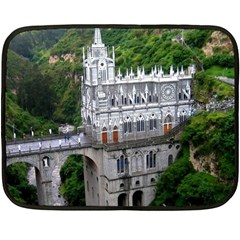 Las Lajas Sanctuary 2 Fleece Blanket (mini)
