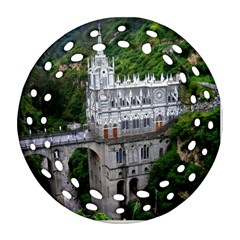 Las Lajas Sanctuary 2 Ornament (round Filigree)