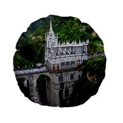 Las Lajas Sanctuary 2 Standard 15  Premium Flano Round Cushions