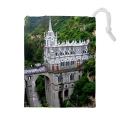 Las Lajas Sanctuary 2 Drawstring Pouches (extra Large)