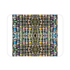 Kaleidoscope Jewelry  Mood Beads Double Sided Flano Blanket (mini)