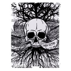 Skull & Books Apple Ipad 3/4 Hardshell Case (compatible With Smart Cover)