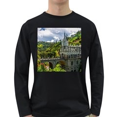 LAS LAJAS SANCTUARY 1 Long Sleeve Dark T-Shirts