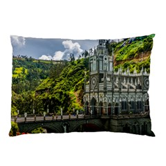 Las Lajas Sanctuary 1 Pillow Cases (two Sides)