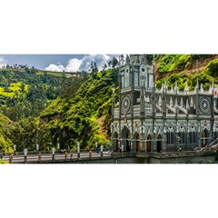 LAS LAJAS SANCTUARY 1 YOU ARE INVITED 3D Greeting Card (8x4)