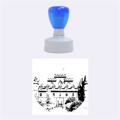 INVERARAY CASTLE Rubber Round Stamps (Medium)