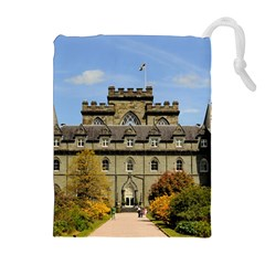 INVERARAY CASTLE Drawstring Pouches (Extra Large)