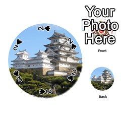 HIMEJI CASTLE Playing Cards 54 (Round)
