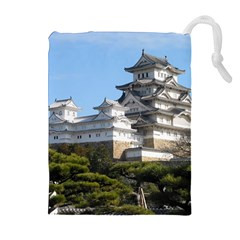 Himeji Castle Drawstring Pouches (extra Large)