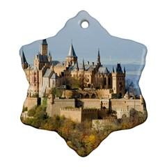 Hilltop Castle Ornament (snowflake)