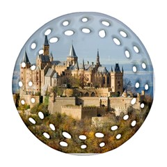 HILLTOP CASTLE Round Filigree Ornament (2Side)