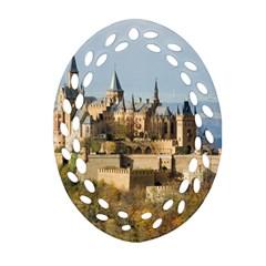 Hilltop Castle Ornament (oval Filigree)