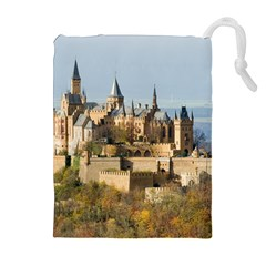 HILLTOP CASTLE Drawstring Pouches (Extra Large)