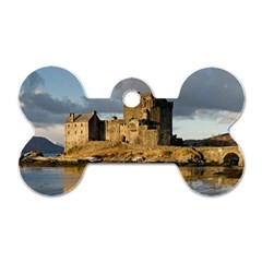 EILEAN DONAN CASTLE Dog Tag Bone (One Side)