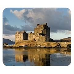 Eilean Donan Castle Double Sided Flano Blanket (small)