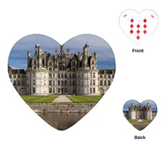 Chambord Castle Playing Cards (heart)