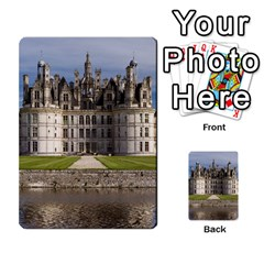 Chambord Castle Multi Purpose Cards (rectangle)