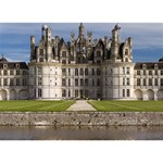 CHAMBORD CASTLE THANK YOU 3D Greeting Card (7x5)  Back