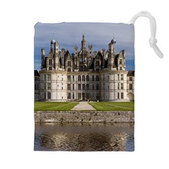 CHAMBORD CASTLE Drawstring Pouches (Extra Large)