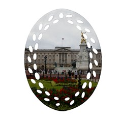 Buckingham Palace Ornament (oval Filigree)