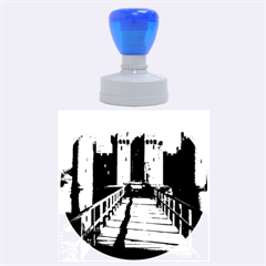 Bodiam Castle Rubber Round Stamps (large)
