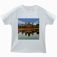 Angkor Wat Kids White T Shirts