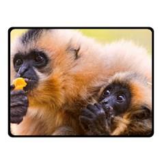 Two Monkeys Double Sided Fleece Blanket (small)