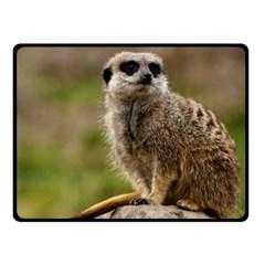 Meerkat Fleece Blanket (small)