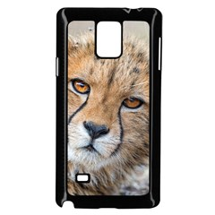 Leopard Laying Down Samsung Galaxy Note 4 Case (black)