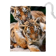 Baby Tigers Drawstring Pouches (xxl)