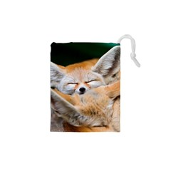 BABY FOX SLEEPING Drawstring Pouches (XS)
