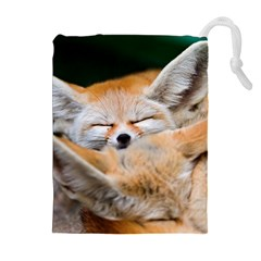 Baby Fox Sleeping Drawstring Pouches (extra Large)