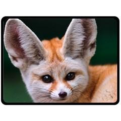 Baby Fox Fleece Blanket (large)