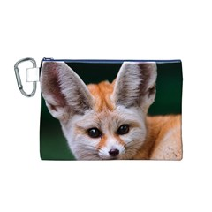 Baby Fox Canvas Cosmetic Bag (m)