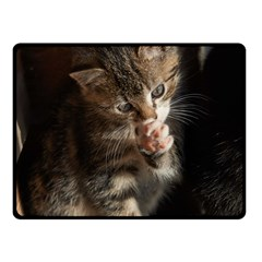 Talk To The Paw Fleece Blanket (small)